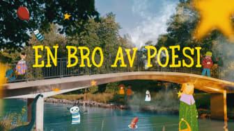 En bro av poesi är en serie för barn mellan 6 och 9 år för att stimulera språkutveckling. Bild: Sam Sohlberg.