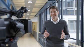 Timo Heitmann vor der Kamera