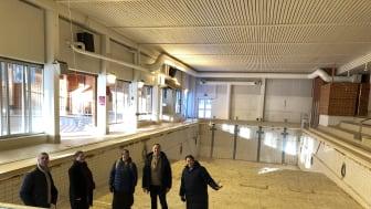 Valsta simhall som inte längre kan användas som simhall kommer att få nytt liv i form av  konst. Konst som kommer att skapas utifrån bland annat plast som Hotell Kristina rensar ut i syfte att bli plastfria 2020.