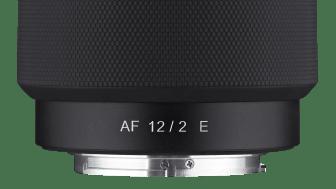 1_Samyang AF 12mm F2,0 E_ Front