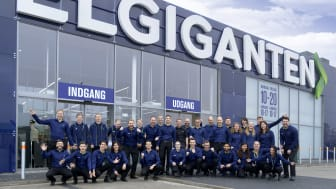 Medarbejdere i Elgiganten i Skejby