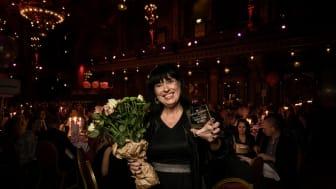 Carola Tiberg, Sveriges Bästa Marknadschef 2019 inom hemelektronik. Foto: Pax Engström.