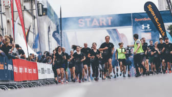 Viele Tausend Läuferinnen und Läufer starten am Sonntag wieder auf der Ludwigstraße.