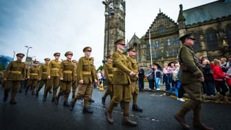 Remembering the fallen – Rochdale welcomes historic march