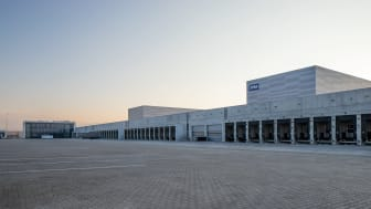 JYSK's brand new distribution center in Bozhuristhe, Bulgaria, has come a long way towards completion.