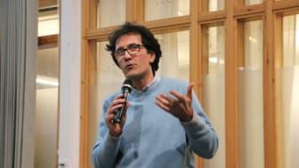 Diego Calvanese är Wallenberg gästprofessor på Institutionen för datavetenskap vid Umeå universitet och professor i datavetenskap vid Free University of Bozen-Bolzano i norra Italien. Foto: Mikael Hansson