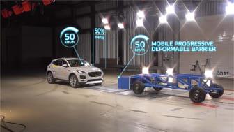The new Mobile Progressive Deformable Barrier test