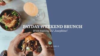 Kitchen & Table Kungsholmen firar löningslördag med brunch & DJ!