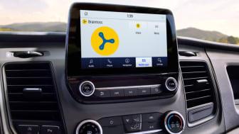 Ford nyttekjøretøy internett som standard 2020