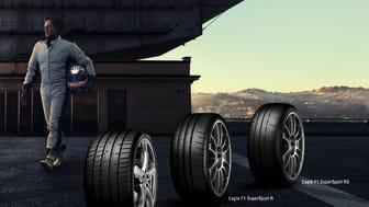 Goodyear Eagle F1 SuperSport-sortimentet gör sin offentliga debut på den internationella bilsalongen i Genève 2019