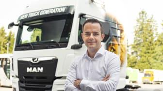 Stefan Thyssen, adm. Direktør for MAN i Norge, Sverige og Danmark, ændrer sin organisation for at få et stærkere fokus på de lokale markeder