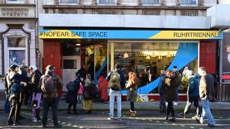 #nofear Safe Space Eröffnung