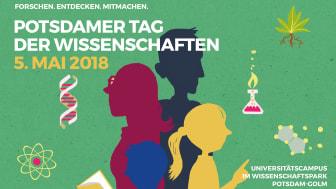6. Potsdamer Tag der Wissenschaften am 5. Mai 2018