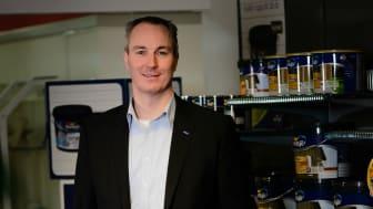 Jesper Salskov Jensen är ny Nordendirektör för AkzoNobel.