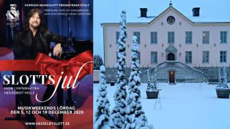 Robert Wells & Co står för underhållningen på Hesselby Slott i december