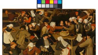 Bröllopsdansen av Pieter Breughel d.y.