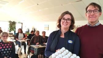 Marie Lönneskog Hogstadius, Svenska Ägg och Christer Rosén, CHR Food & Health