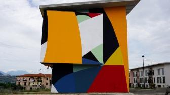 Moneylessin muraali Italian Lionissa