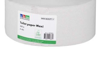 KBM Toalettpapper Maxi 400m Kvalitet Basic