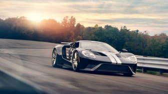 Ford GT hade snabbast varvtid av alla under testerna i Kanada.