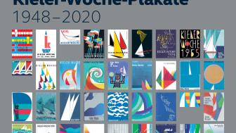 73 Jahre kreative Vielfalt vereint auf einem Plakat: Kieler Woche Motive von 1948 bis 2020