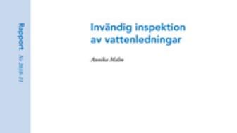 SVU-rapport 2010-11: Invändig inspektion av vattenledningar (ledningsnät)