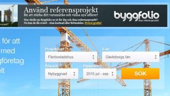 Nya Byggsok.se lanserad! Ökat värde för Sverige Byggers marknadsföringskunder.