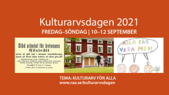 Kulturarvsdagen 2021