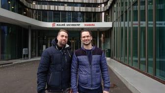 Robert Åberg and Gustav Erling. Photo: Sigma Technology