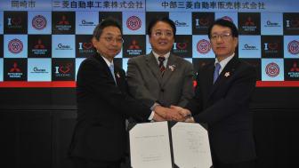 Katastrophenschutz-Kooperation für Mitsubishi Motors in Japan