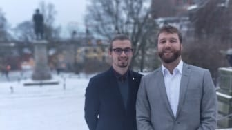 Alexander Beyer och Nils Weber är grundarna bakom Bitroot.