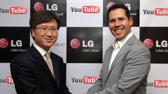 Samarbete mellan LG och YouTube gör 3D mobilt