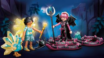 Crystal Fairy und Bat Fairy mit Seelentieren (70803) von PLAYMOBIL