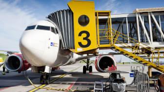 Malmö Airports resenärsstatistik för juni
