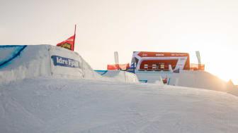 VM i skicross och snowboardcross kommer att avgöras i Idre 11–13 februari. Foto: Bildbyrån