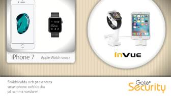 iPhone 7 och Apple Watch 2 på samma varularm