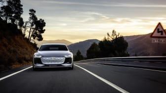 Audi A6 e-tron concept – den næste e-volution