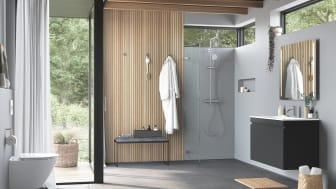 """""""Inspirerad av naturen"""" är konceptet som ska sätta fokus på Ifös breda produktsortiment av badrumsinredning och toaletter."""