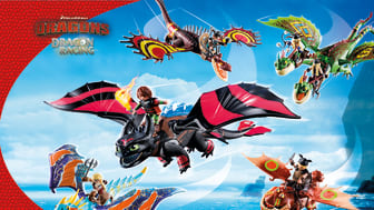 Drachenstarke Action: Ab zum Drachenrennen mit den DreamWorks Dragons von PLAYMOBIL