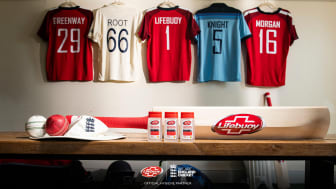 Hygiene brand Lifebuoy partners with England Cricket to support a safe return of the game