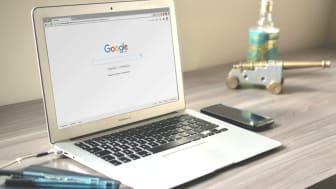 Få svenska företag nyttjar Google i sin marknadsföring
