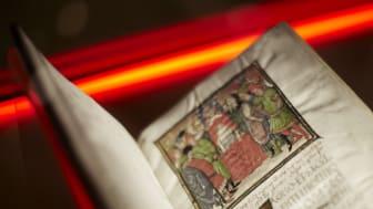 Sista chansen att se drottning Kristinas unika manuskriptsamling