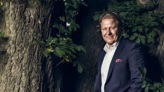 Fabian Bengtsson, omvald ordförande för Företagarna