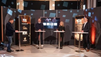 Moderator Martin Meyer-Gossner im Gespräch mit Mirko Silz, Andrea Belegante und Jochen Pinsker