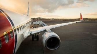 Avión en pista