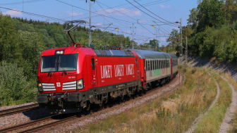 Nattåget Malmö - Berlin 2019