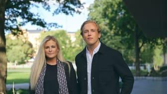 Natalie Tideström Heidmark lämnar vd-rollen för nya uppdrag och ersätts av Marcus Klamming. Foto: Anton Enerlöv