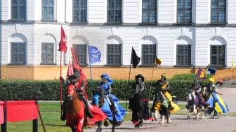 Upplev det årliga  tornérspelet  28-30 juli på Skoklosters slott