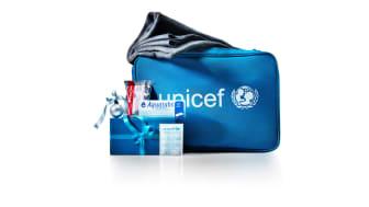 Nytt samarbete mellan UNICEF och Akelius ger dubbelt upp till barnen i december