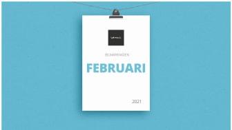 Bilmarknaden februari 2021